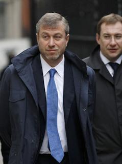 Tỷ phú kiêm chủ tịch câu lạc bộ Chelsea, Roman Abramovich