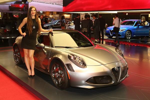 Novedades de Alfa Romeo en el Salón de París