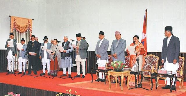 New order of precedence in Nepal