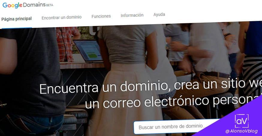 comprar dominios baratos y gratis en google domains