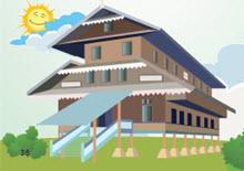 Rumah Adat Sultra