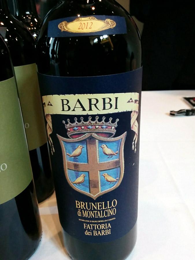 Fattoria dei Barbi Brunello di Montalcino 2012 (92 pts)