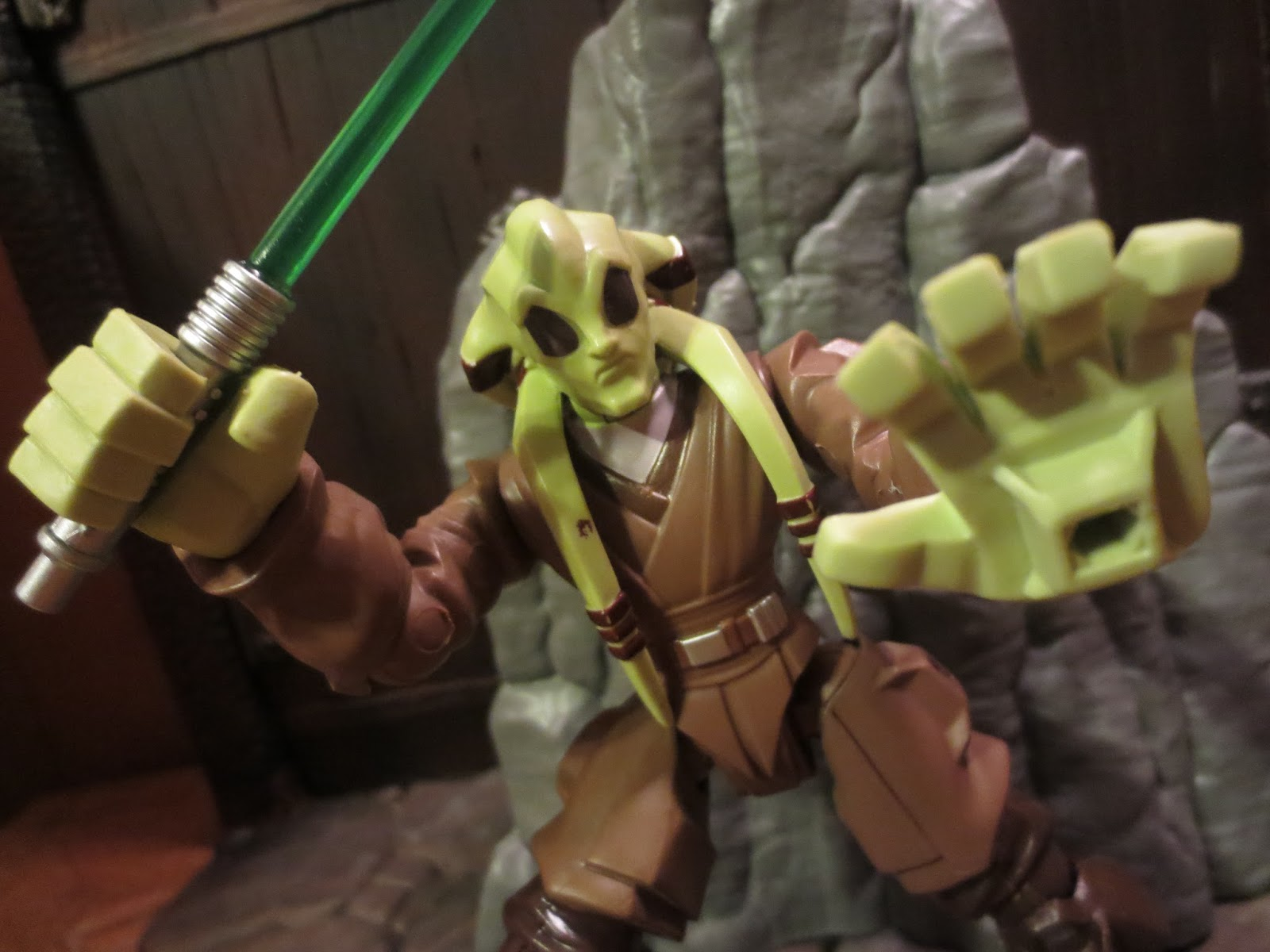 Action Figure Barbecue Action Figure Review Kit Fisto From Star Wars Hero Mashers By Hasbro