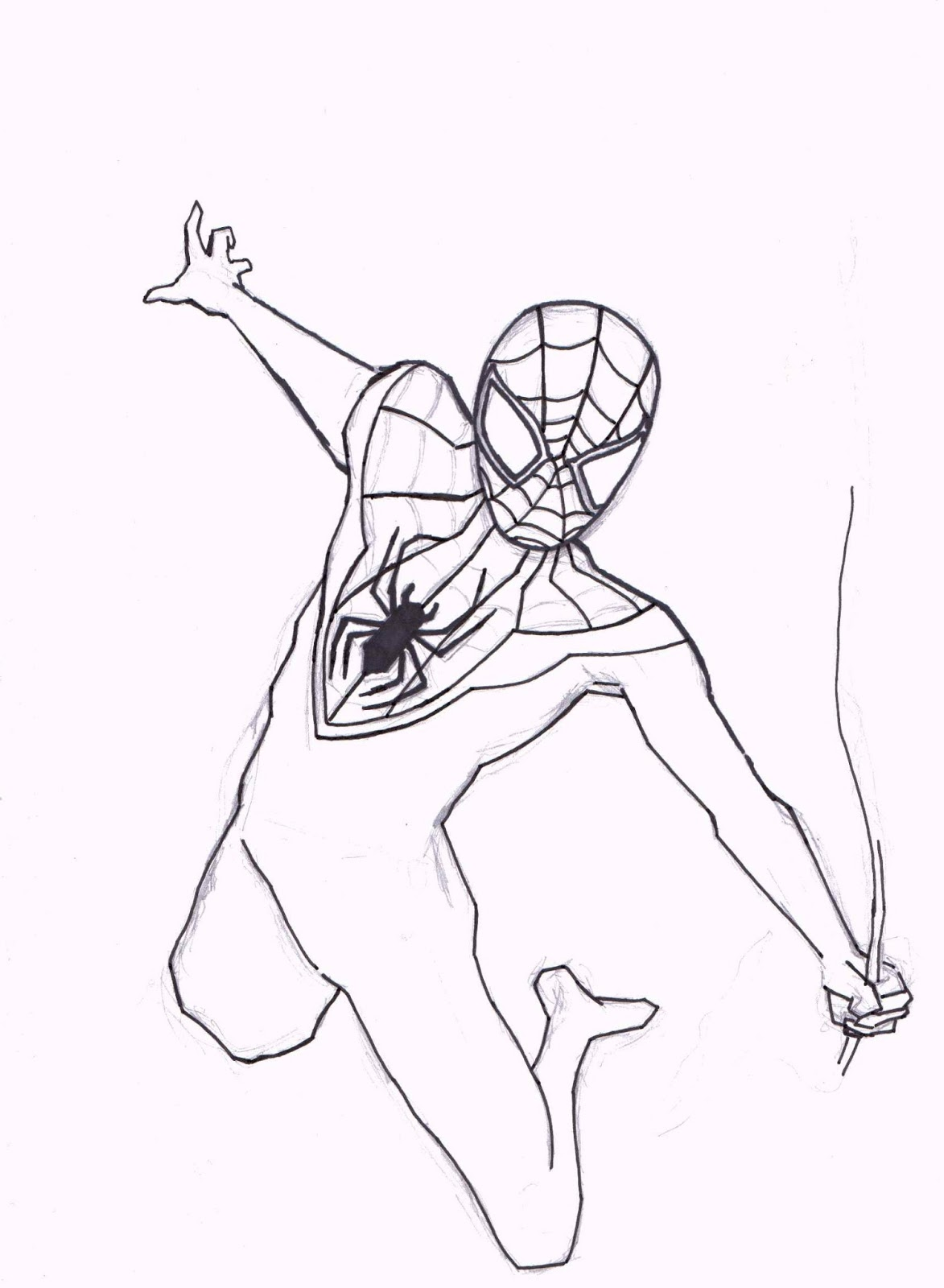 John Graham Comic Blog: Work In Progress: Ultimate Spider-Man