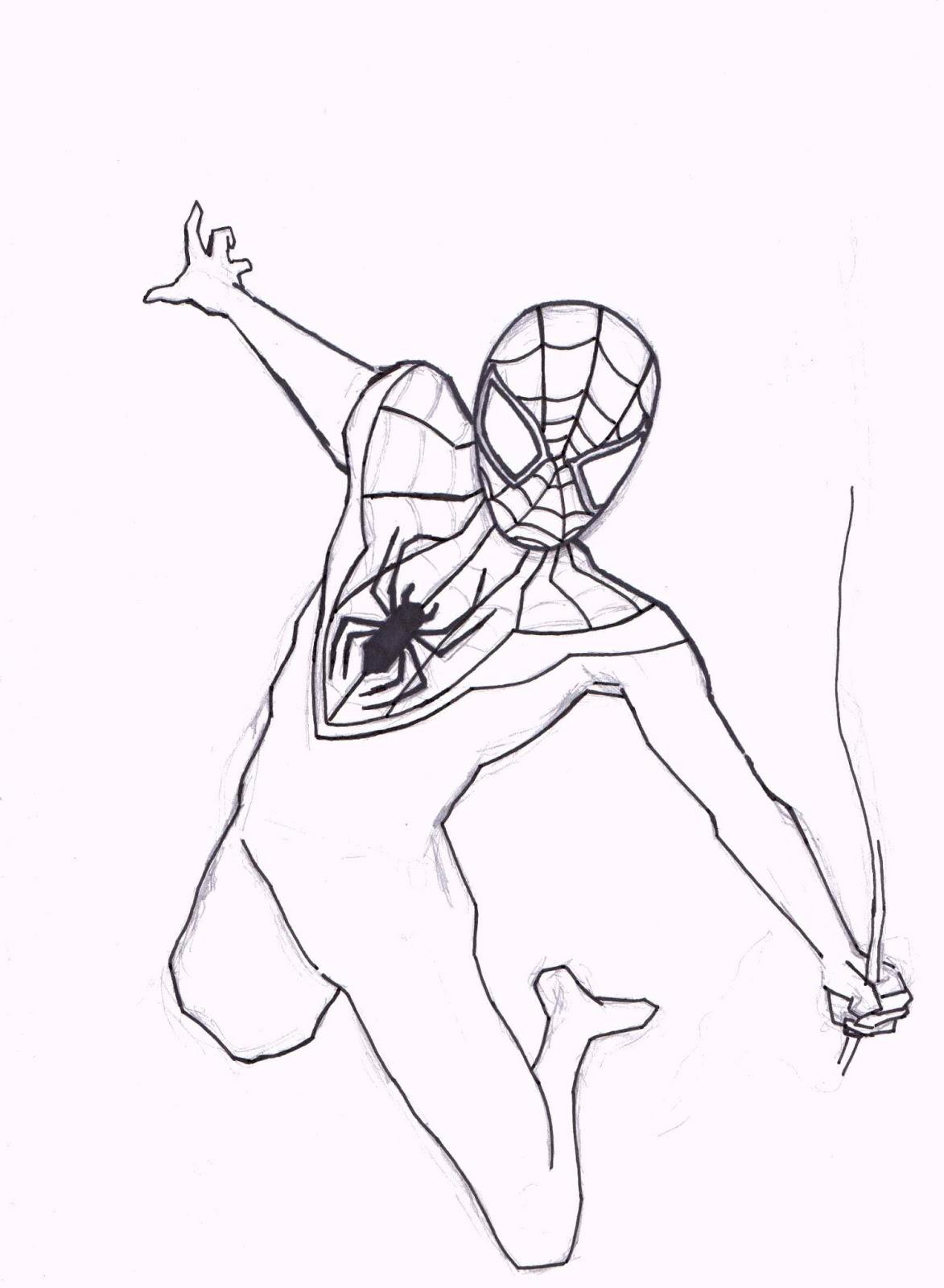 John Graham Comic Blog: Work In Progress: Ultimate Spider-Man