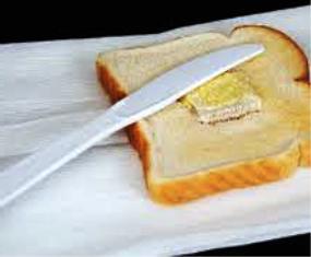 contoh pisau roti mentega warna butek