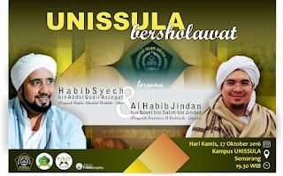 Unnisula Bersholawat bersama Habib Syech