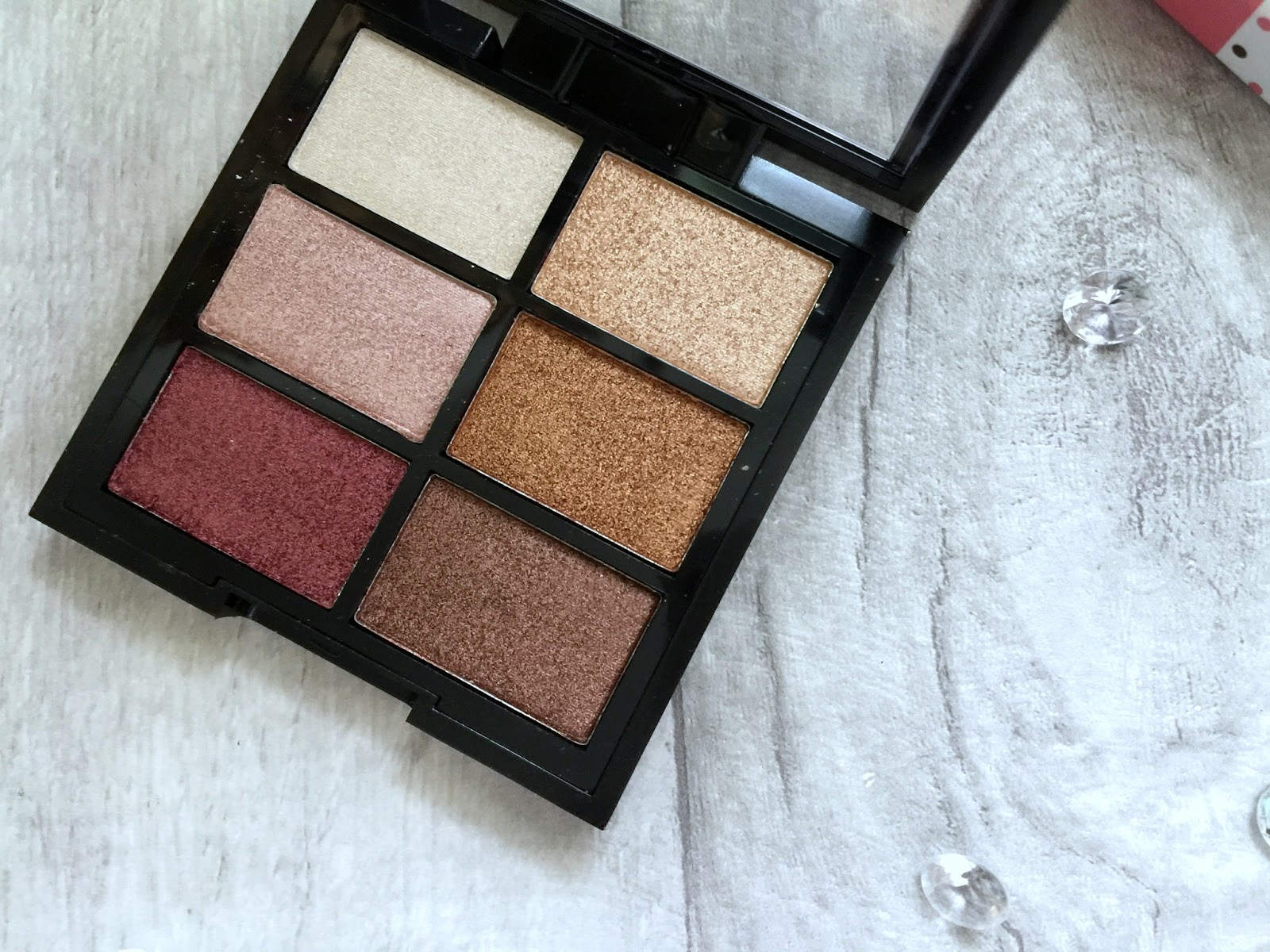 mua 6 shade palette in rusted wonders shades