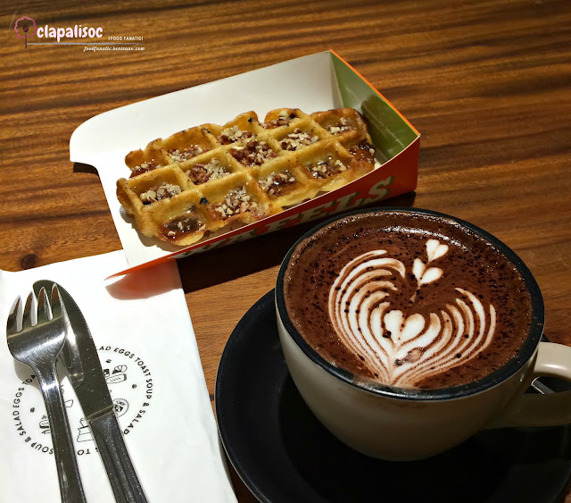 Bacon Waffle and Chai Chocolate from Toby's Estate PH