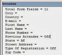 PDF Field Names - Immediate Window