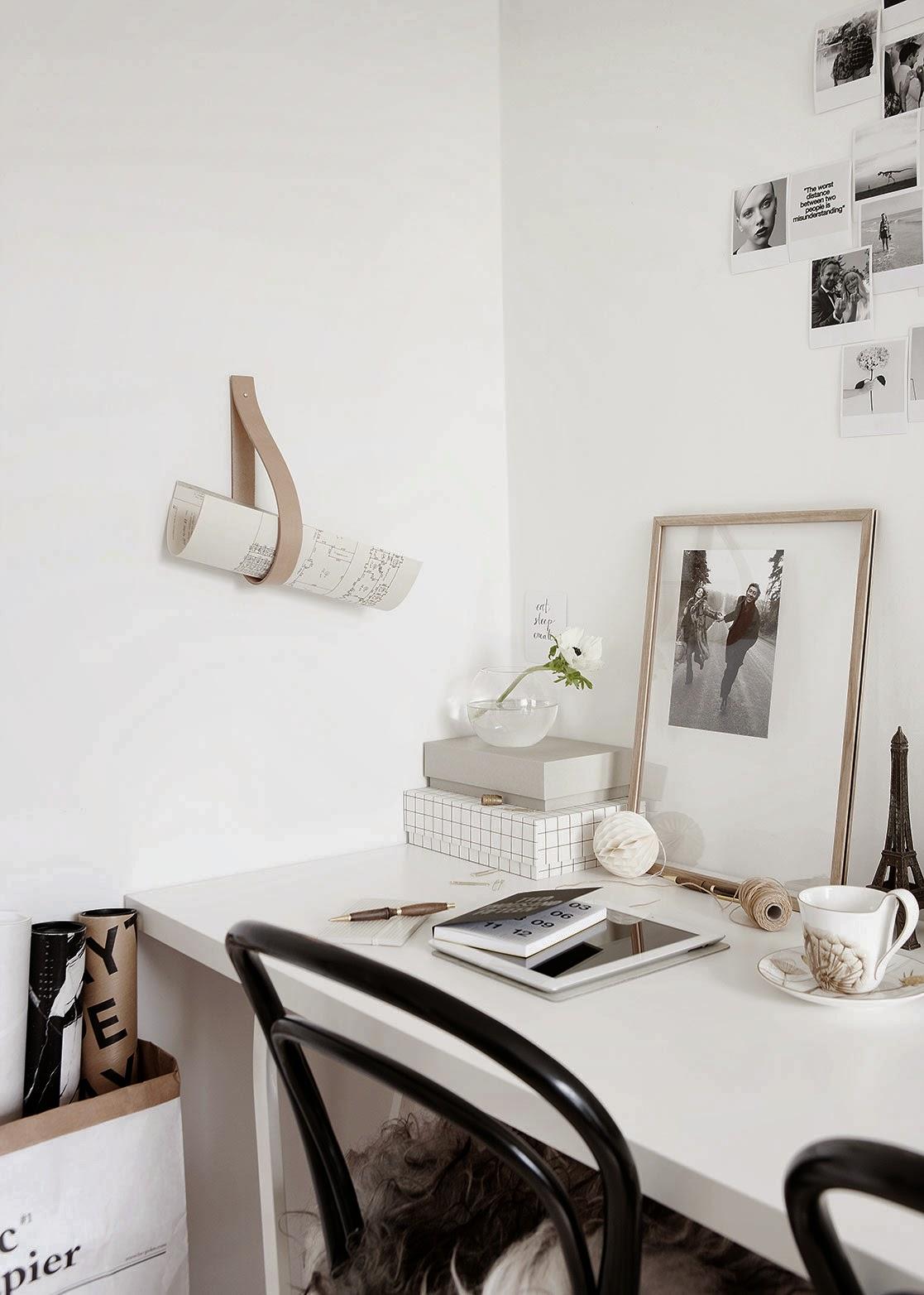 Our Old Apartment in Bolig Magasinet, Scandinavian interior design, via Scandinavian Love Song