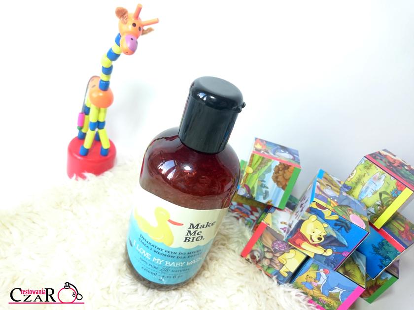 Delikatny żel do mycia ciała i włosów dla dzieci