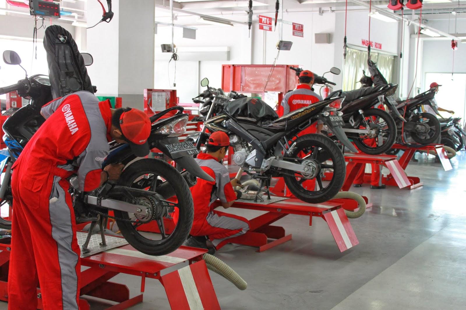 Hasil gambar untuk Bengkel Motor : Manfaat Servis Motor yang Perlu Diketahui