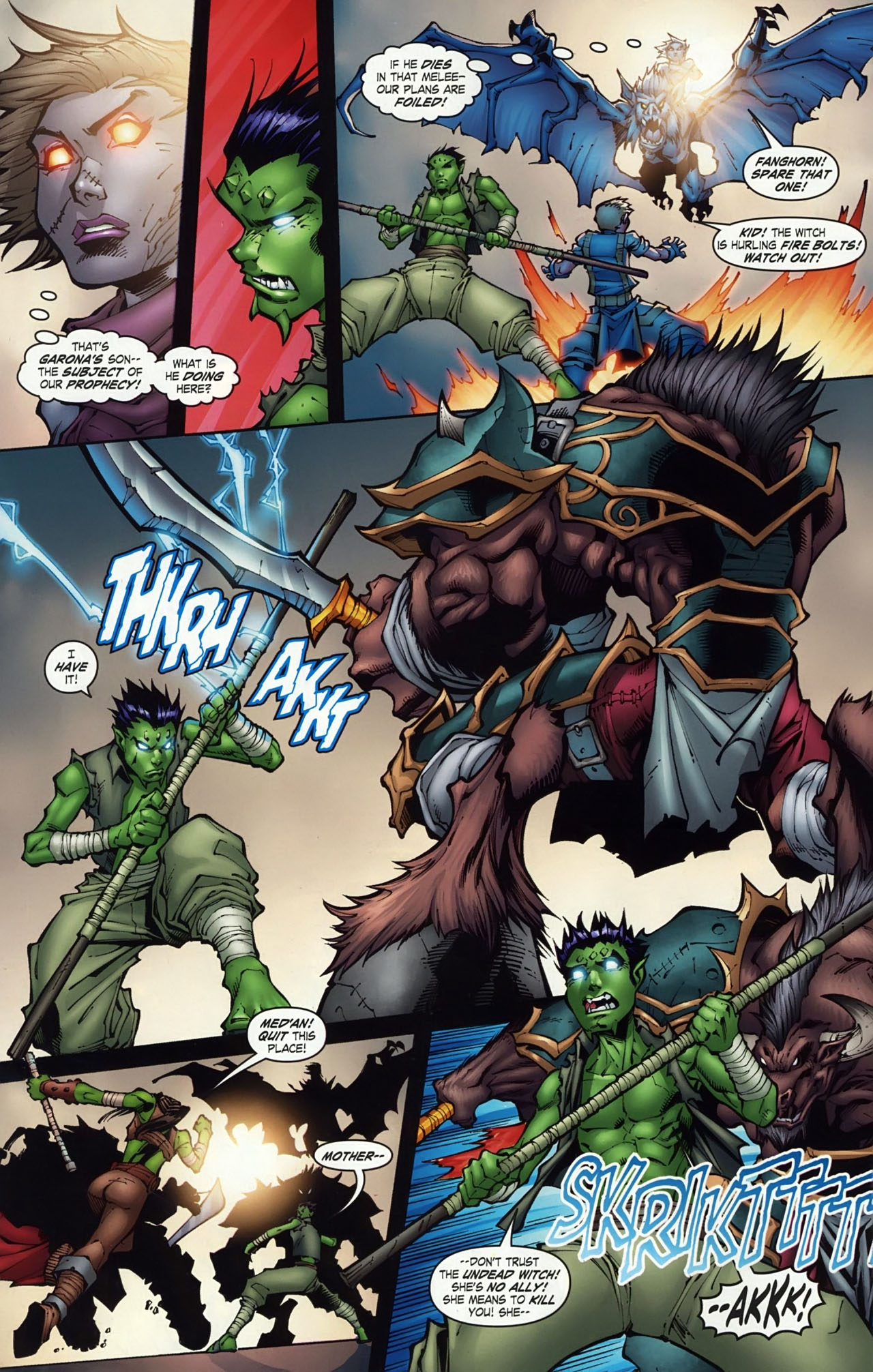 Read online World of Warcraft comic -  Issue #18 - 9