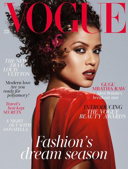 Gugu Mbatha-Raw Covers April Isuue Of Vogue Magazine