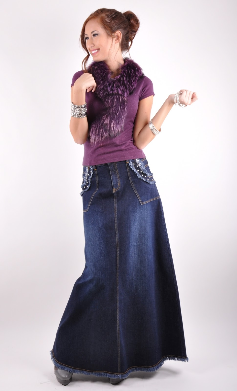 long skirts  dresses long denim skirts