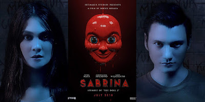 Sabrina : The Next Terror In The Doll Series, Kisah Seram, Filem Seram Indonesia, Indonesian Movie, Horror Movie, 2018,  Sabrina Movie, Movie, Movie Review, Review Filem Indonesia Sabrina, The Doll Series, Sabrina Cast, Pelakon Filem Sabrina, Luna Maya, Christian Sugiono, Sara Wijayanto, Jeremy Thomas, Rizky Hanggono, Richelle Georgette Skornicki, Sambungan Movie The Doll 2,