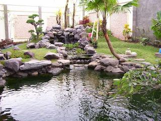 jual batu kali untuk air terjun minimalis