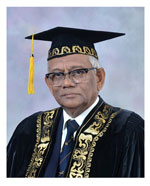 Prof. Dayantha Wijeyesekera - Chancellor of the University of Vocational Technology