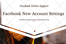 Facebook New Account Settings