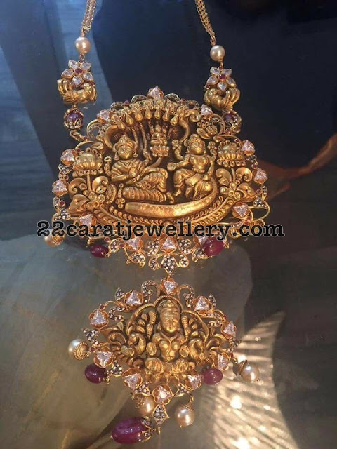Ganesh and Krishna Pendant Sets