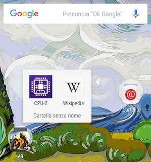 Come creare una cartella sul desktop di Android
