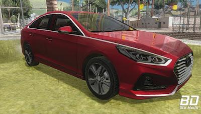 Mod , Carro, Hyundai Sonata 2018 para GTA San Andreas, Jogo GTA SA