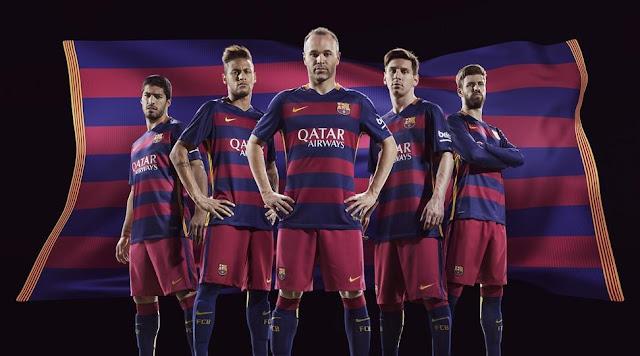 Kostum Barcelona Musim 2015/2016