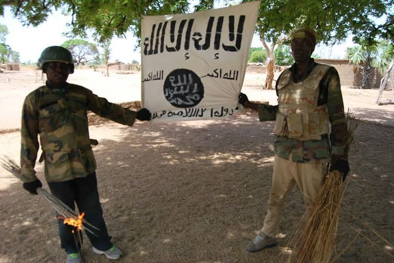 5 Photos: Troops clear Boko Haram camp in Sambisa Forest, rescue 41 hostages
