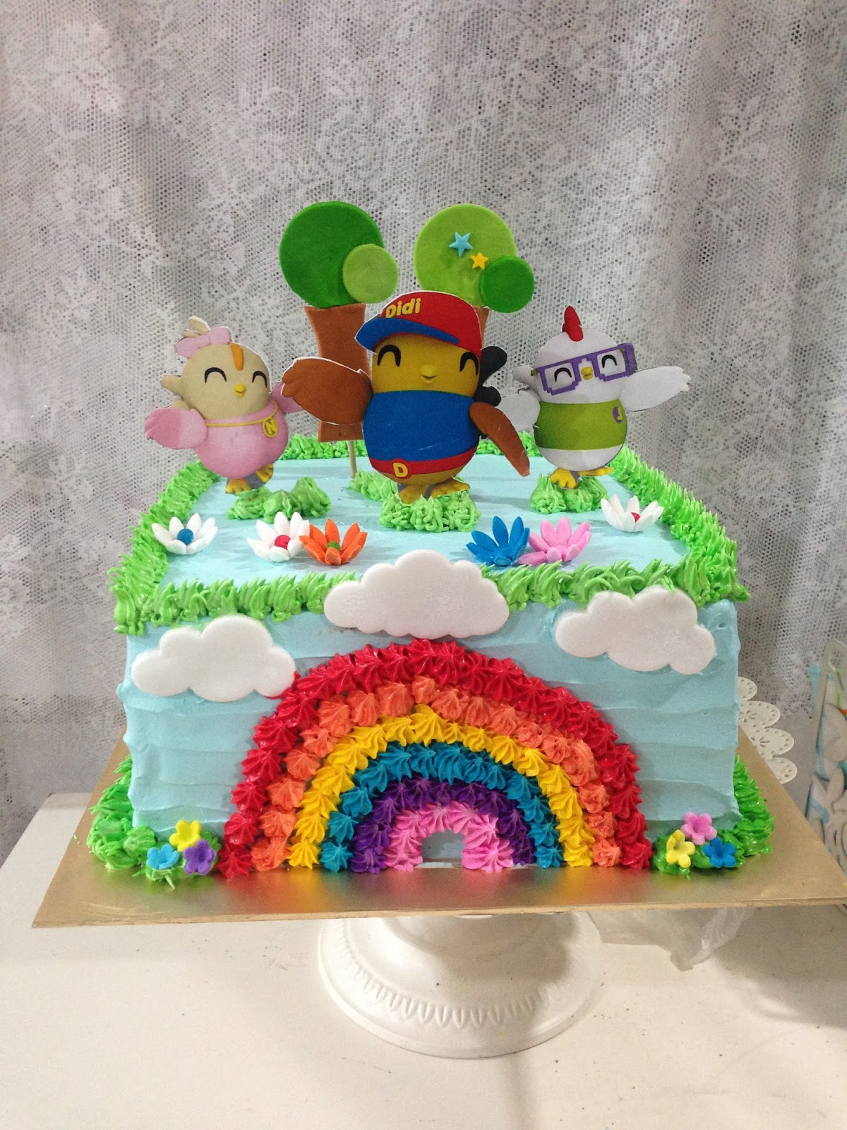 Images Of Birthday Cake For Didi : ninie cakes house: Didi & Friends Birthday Cake Theme