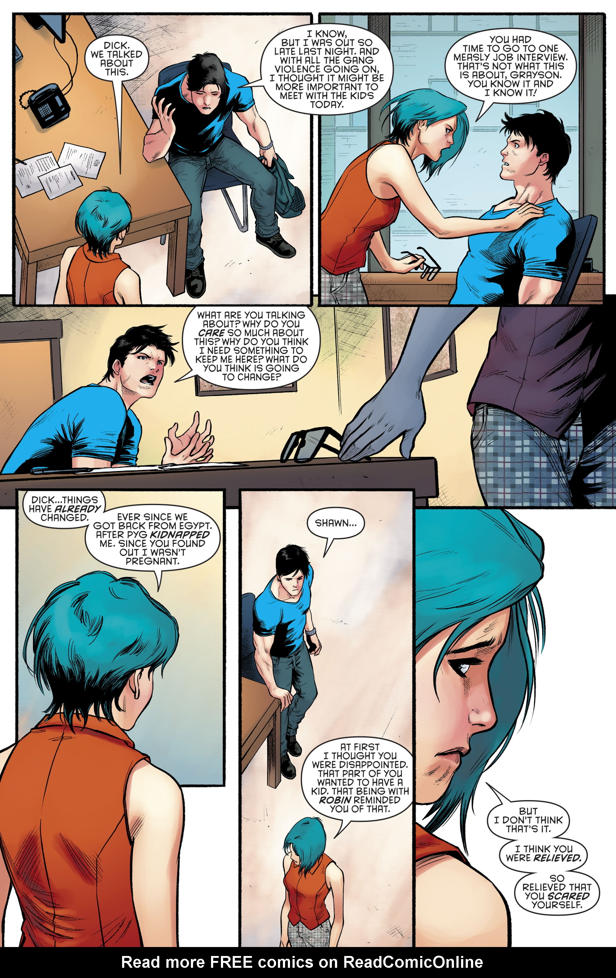 Read online Nightwing (2016) comic -  Issue #23 - 16