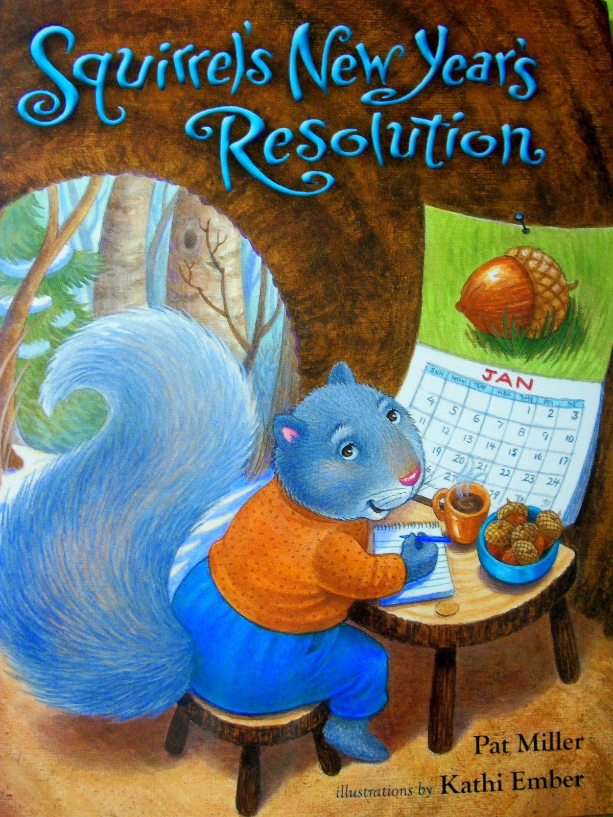 Squirrel's New Year's Resolution cover