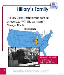 sample page #2 from HILLARY RODHAM CLINTON: Historic Leader  (First Biographies)  by Sarah Tieck