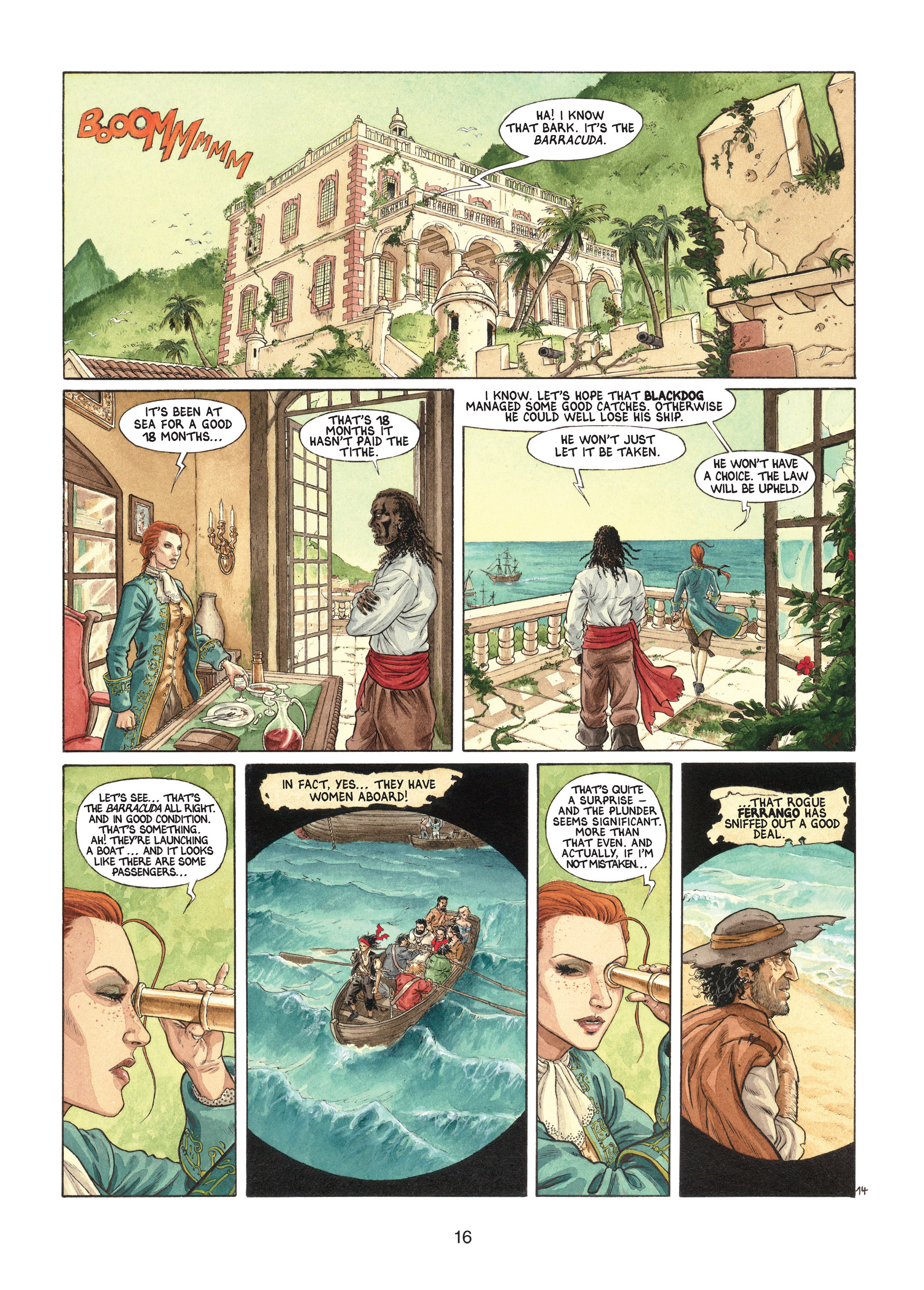 Read online Barracuda comic -  Issue #1 - 16