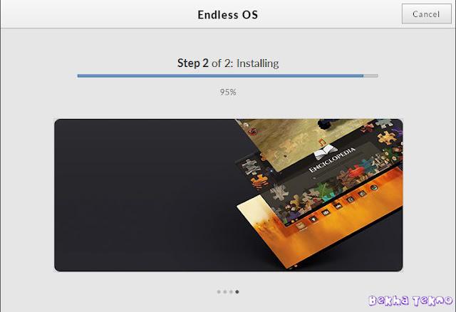 Instal OS Endless 12