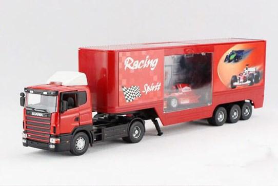 truk miniatur scania