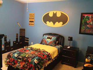 Ide Unik Kamar Bertema Batman Untuk Si Kecil