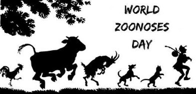 world zoonoses day july 6 2018 in Hindi !