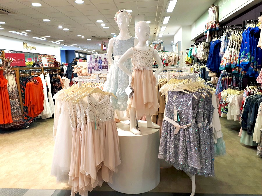 Monsoon, Moores of Coleraine, Local Focus, Flower Girls, Girls occasion wear