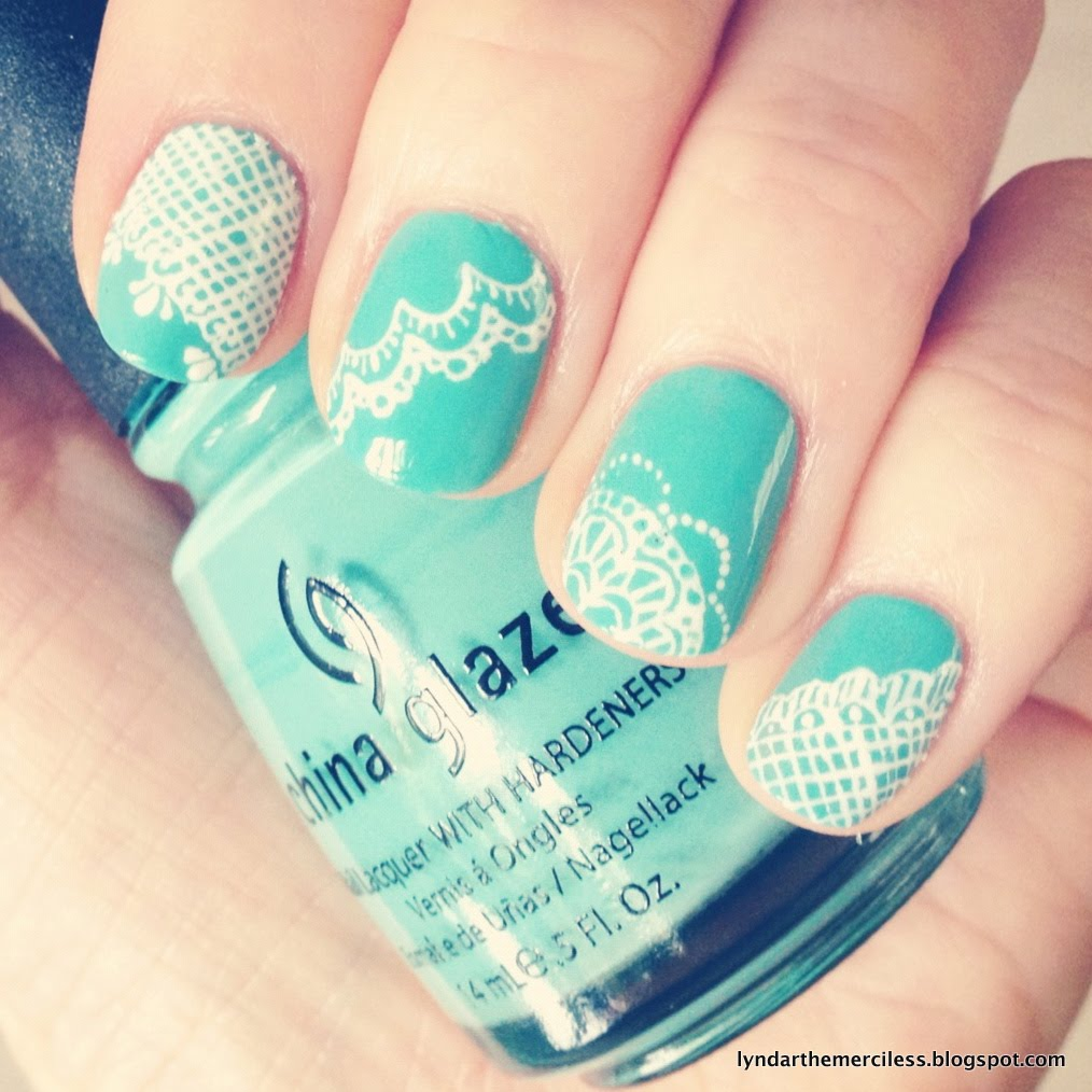 Lyndar The Merciless Just Another Mani Monday Vintage Lace