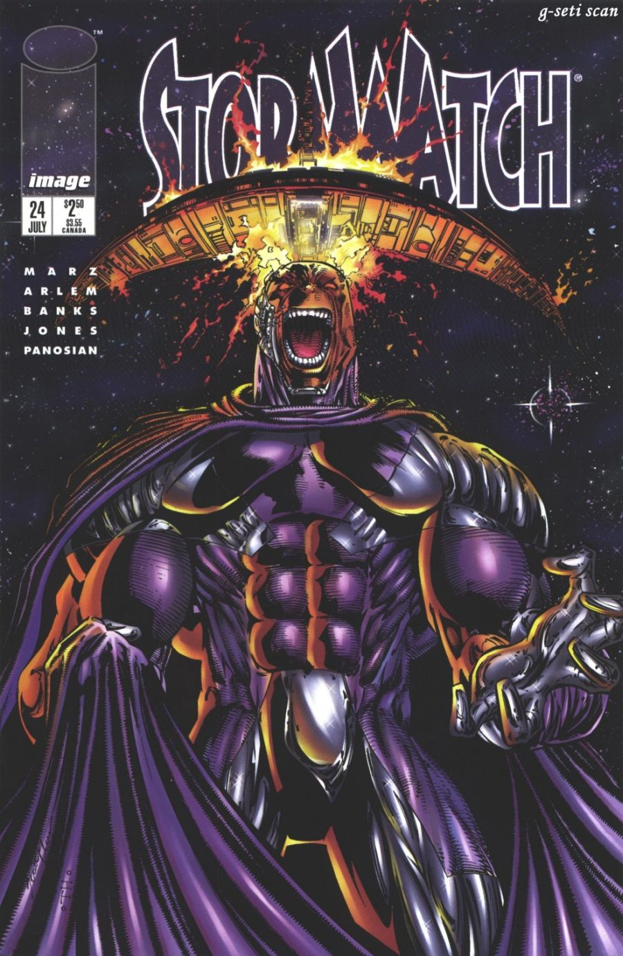 Stormwatch (1993) issue 24 - Page 1