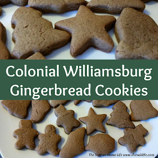 colonial williamsburg, gingerbread, gingerbread cookies