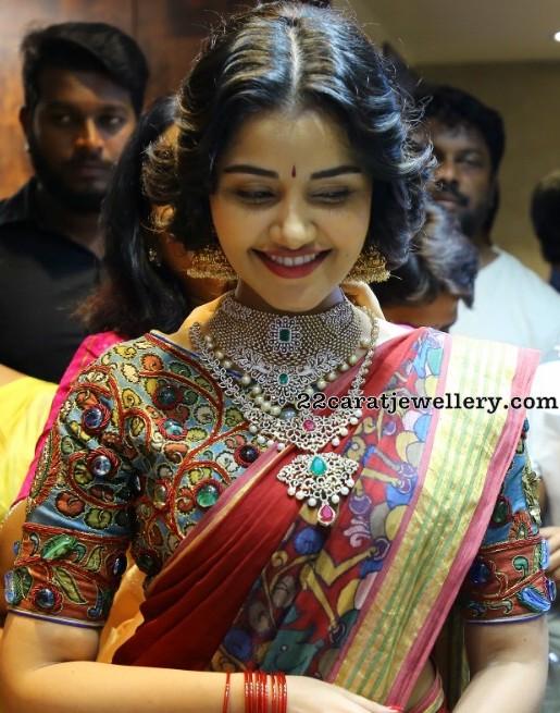 Anupama Parameswaran Diamond Wedding Jewelry