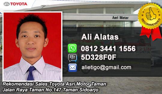 Rekomendasi Sales Toyota Asri Motor Taman Sidoarjo
