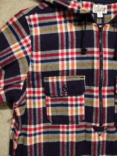 "FWK by Engineered Garments ""Long Bush Dress - Plaid Flannel"""