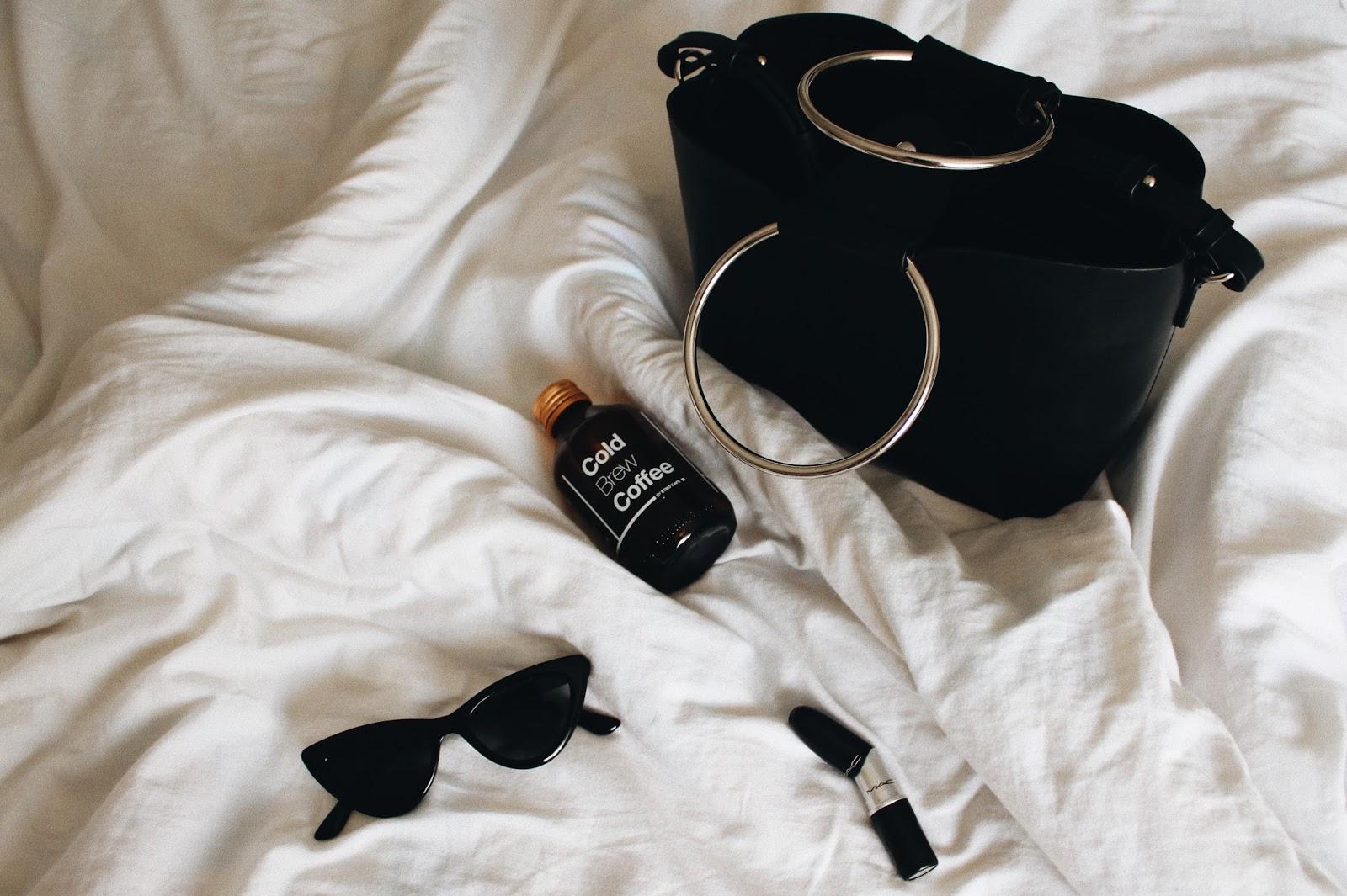 Zara bag & sunglasses