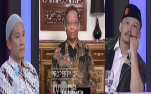 Kritikan 'Tajam' Pak Mahfudz MD Untuk Abu Janda dan Felix Siauw di ILC - TVOne