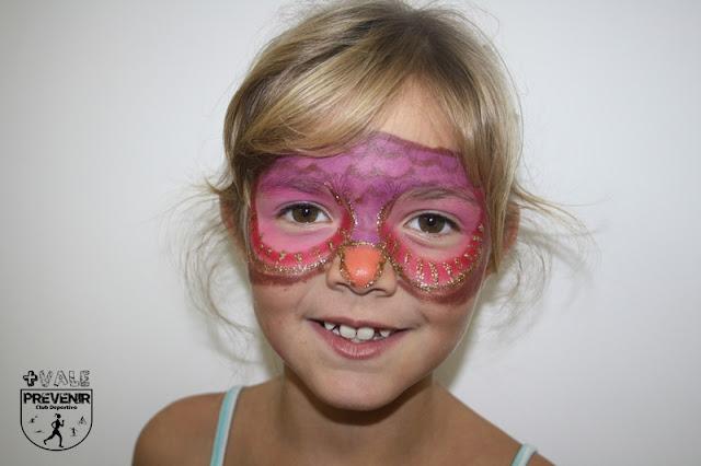 maquillaje fantasia niños