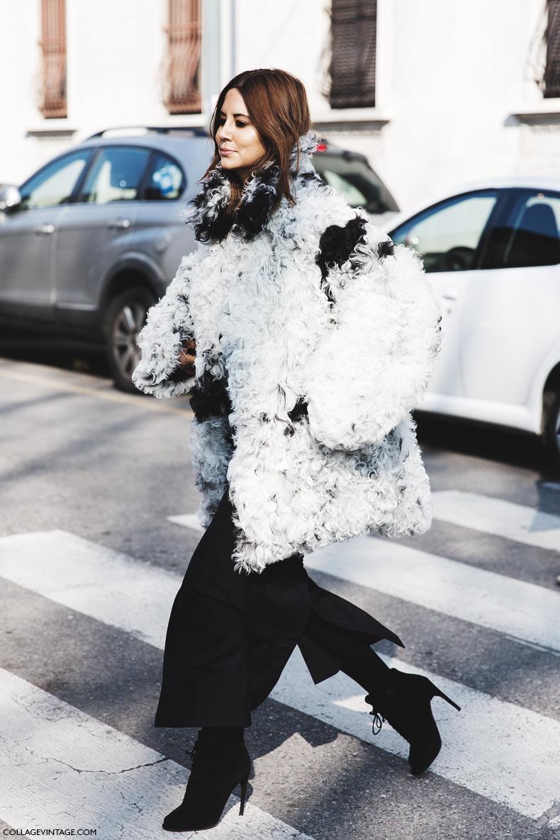 2 Ways to Wear a Furry Coat — Christine Centenera Street Style