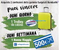 Logo Bonduelle: Scopri il lato buono della vita e vinci Trolley, buoni viaggio da 500€ e un premio per tutti